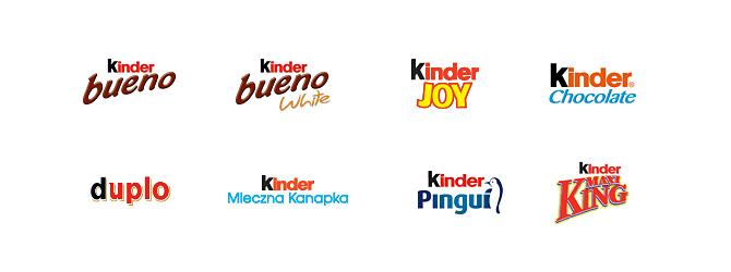 Kinder - marki