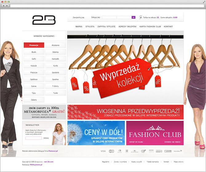2B sklep internetowy