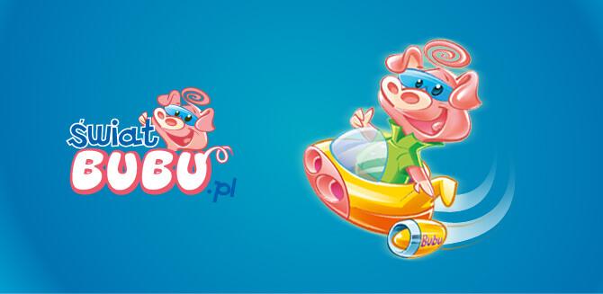 Swiat bubu postać - świnka Bubu