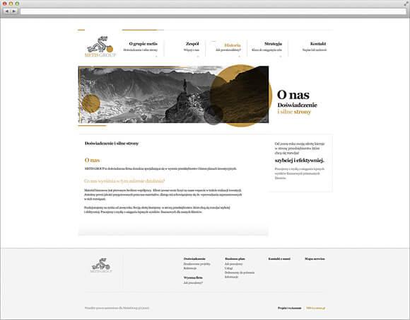 Strona internetowa dla firmy doradczej