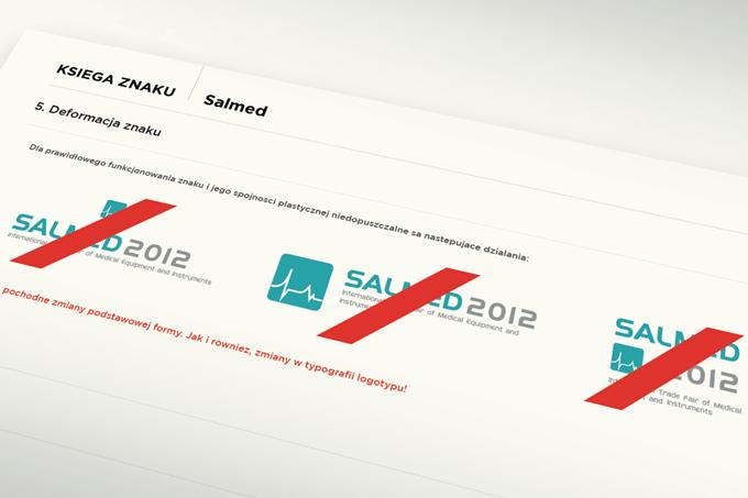Logotyp na zdrowie! Salmed 2012