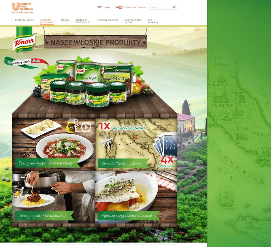 Knorr Smaki Włoch