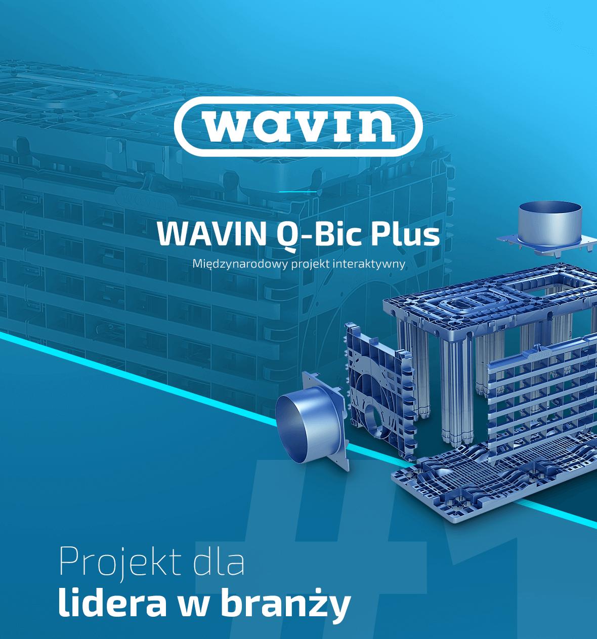 Międzynarodowy projekt – Wavin Qbic Plus