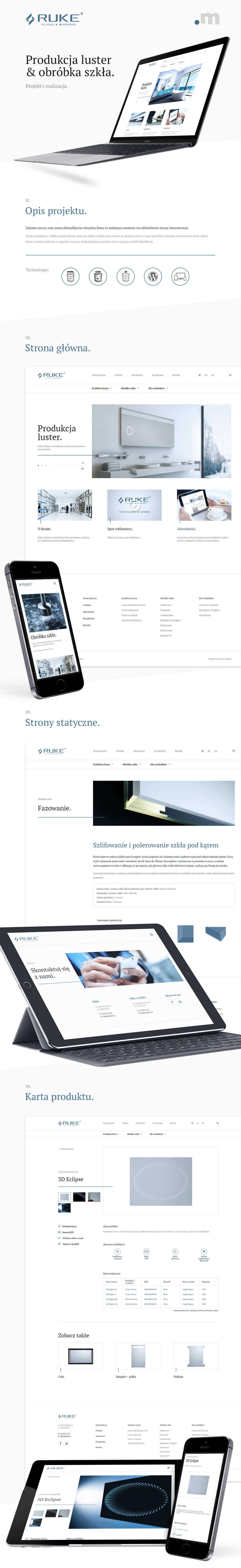 Strona internetowa na systemie wordpress